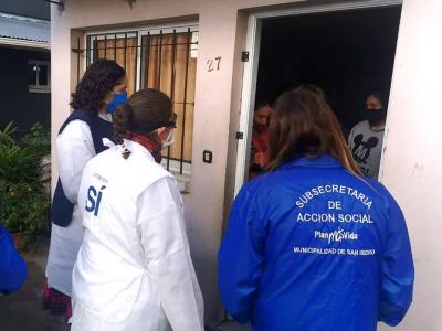 RONDAS SANITARIAS EN BARRIOS VULNERABLES